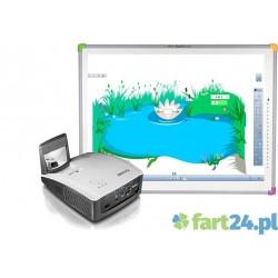 Zestaw interaktywny DUALBoard z Benq MX 852 ST