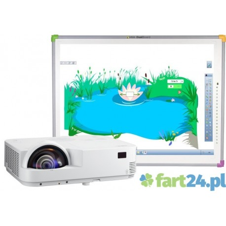 Zestaw interaktywny DUALBoard z NEC M333SX