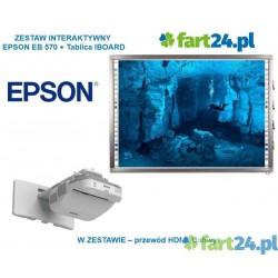 Zestaw Iboard 82 z Epson EB 570