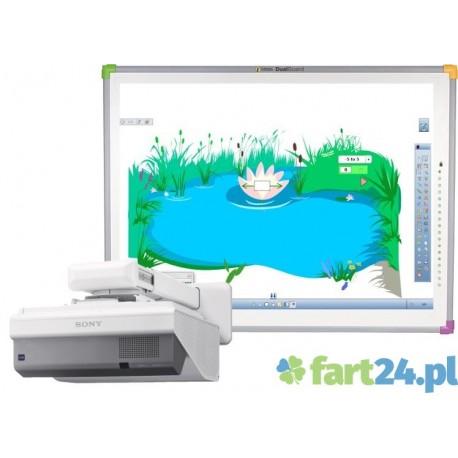 Zestaw interaktywny DUALBoard z SONY  VPL-SX 630