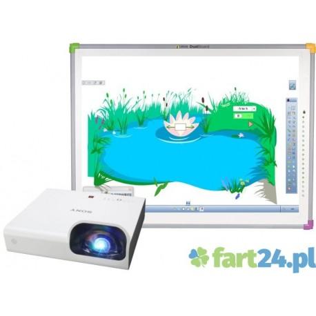 Zestaw interaktywny DUALBoard z SONY  VPL-SX226