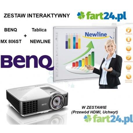 Zestaw interaktywny NEWLINE z BenQMX806ST