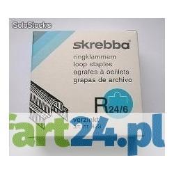 Zszywki z oczkiem ( eurozszywki) 24/8 - 2000 szt. Skrebba