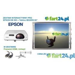 Zestaw interaktywny PRO Dotykowy EPSON EB520