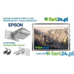 Zestaw interaktywny ULTRA Dotykowy EPSON EB570