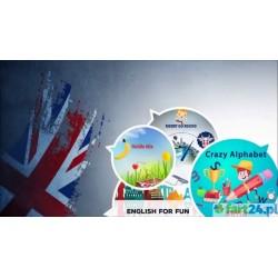 Pakiet ENGLISH FOR FUN - Magiczny Dywan onEVO